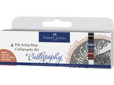 Faber-Castell Pitt Artist Pen Kalligrafie 4 set_