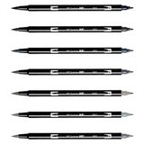 Tombow ABT Dual Brush Pen Grijstinten_