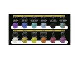 Finetec Aquarelverf Metallic kleuren set 12 stuks en 1 extra_