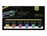 Finetec Aquarelverf Premium High Chroma tones set 6 stuks_