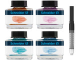 Schneider Pastelinkt Giftbox (Apricot, Lilac, Bermuda Blue, Ice Blue)_