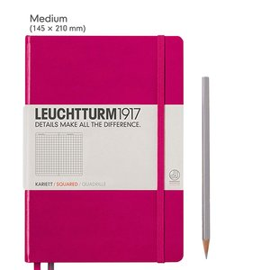 Leuchtturm Medium Hardcover Notebook Squared