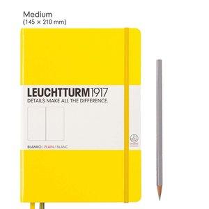 Leuchtturm Medium Hardcover Notebook Plain
