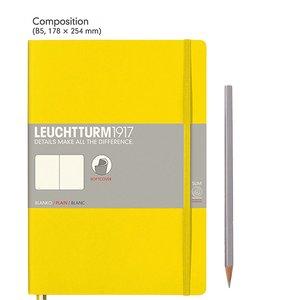 Leuchtturm B5 Composition Softcover Notebook Plain