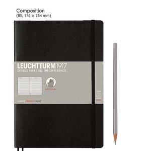 Leuchtturm B5 Composition Softcover Notebook Ruled