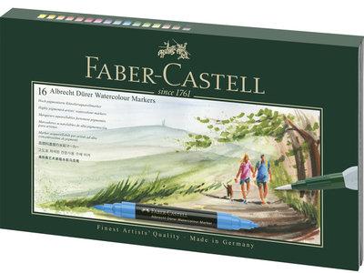 Faber-Castell Albrecht Dürer  aquarelmarker giftset 17 delig