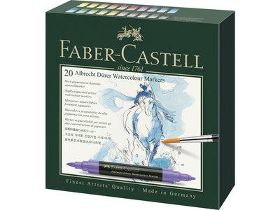 Faber-Castell Albrecht Dürer aquarelmarker set 20 stuks
