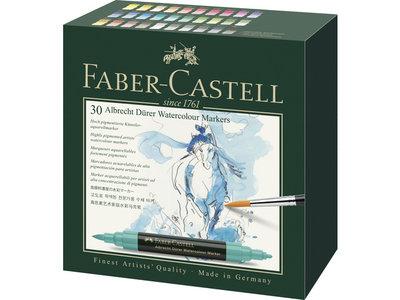 Faber-Castell Albrecht Dürer aquarelmarker set 30 stuks