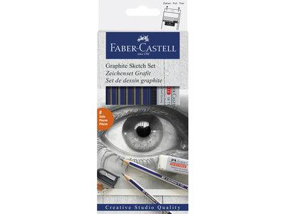 Faber-Castell Goldfaber Grafietset