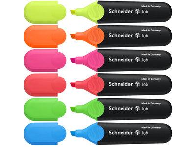 Schneider Job Tekstmarker per stuk
