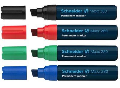 Schneider Maxx 280 marker permanent beitelpunt