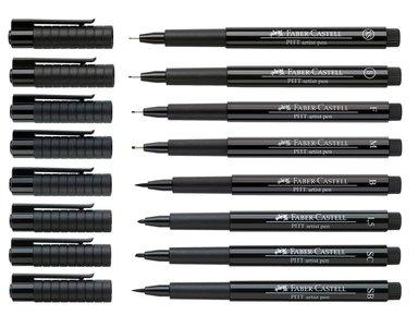 Faber-Castell Pitt Artist Pen zwart