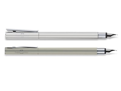 Faber-Castell Neo Vulpen roestvrij staal