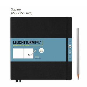 Leuchtturm Square Schetsboek Black