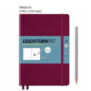 Leuchtturm Medium Schetsboek Port Red