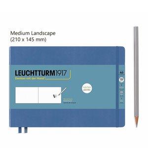 Leuchtturm Landscape Schetsboek Denim