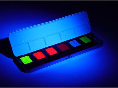 Finetec Neon kleuren set 6 stuks