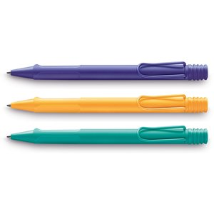 LAMY Safari Balpen Special Edition: Violet, Mango, Aquamarine