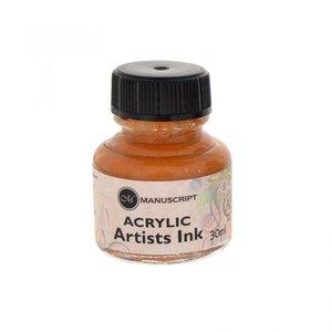 Manuscript Acryl Inkt Metallic Gold
