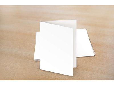 Raadhuis blanco kaarten dubbel A6
