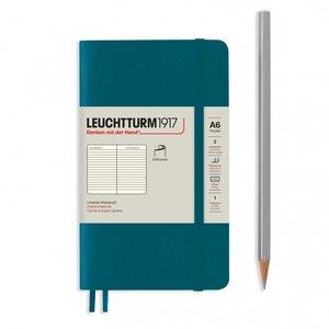 Leuchtturm Hardcover Pocket (A6) Pacific Green