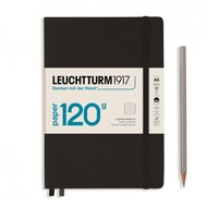 Leuchtturm Hardcover Medium (A5) Black 120g
